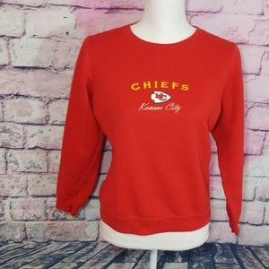 KANSAS CITY NFL CHIEFS RED LIGHTWEIGHT SWEATSHIRT